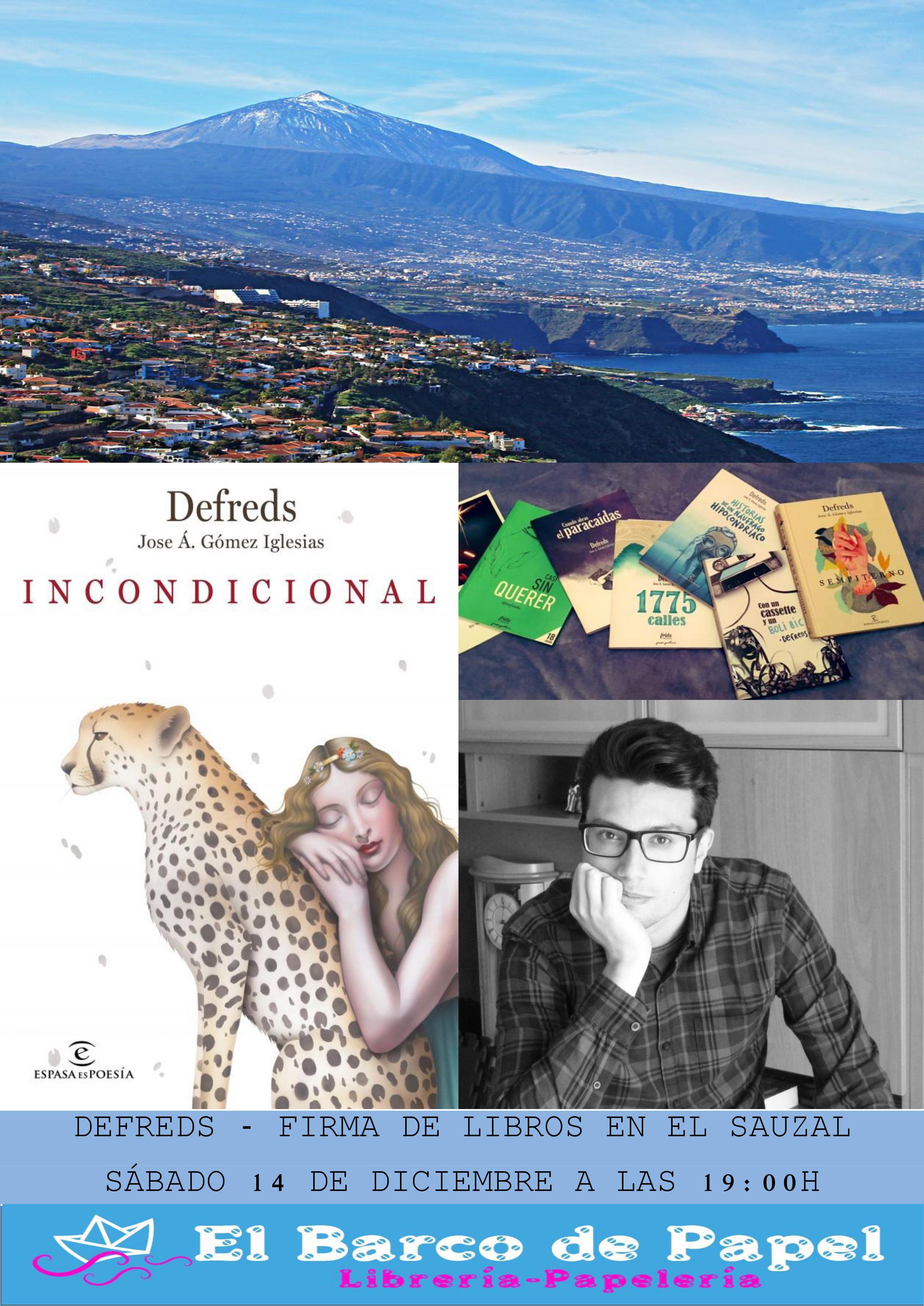 Presentación libro Incondicional defreds