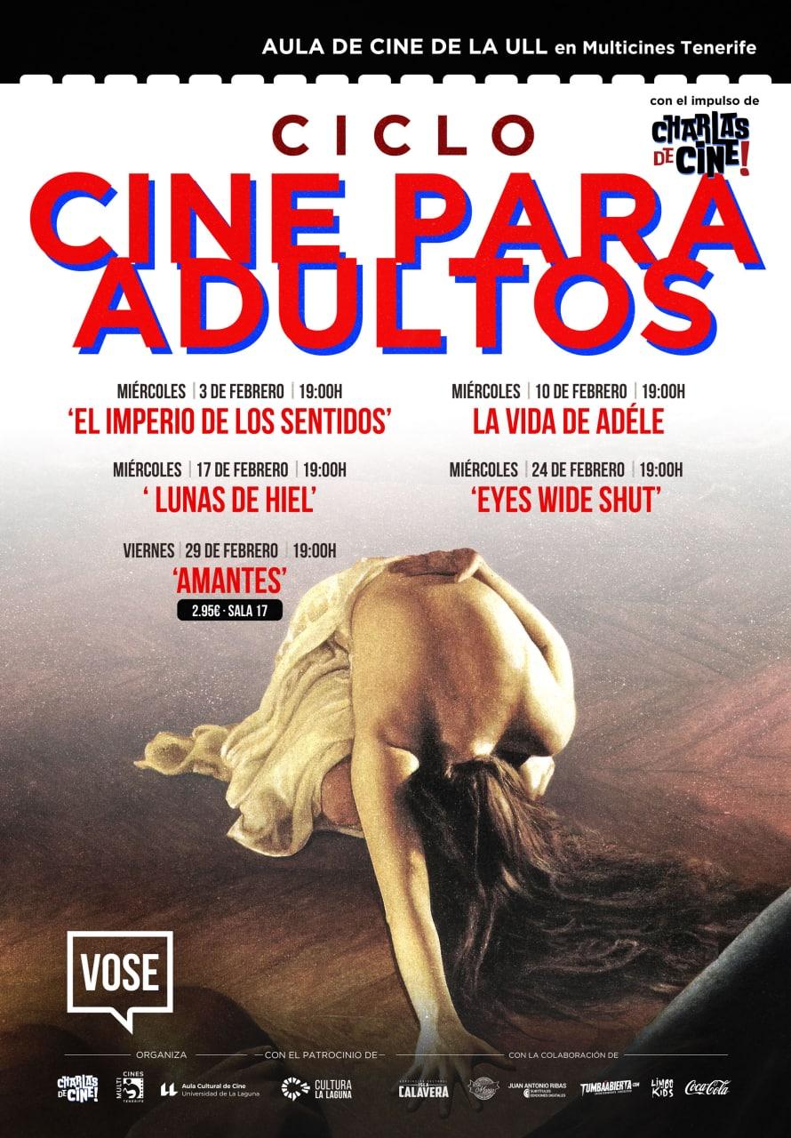 Ciclo Cine para adultos febrero 2021