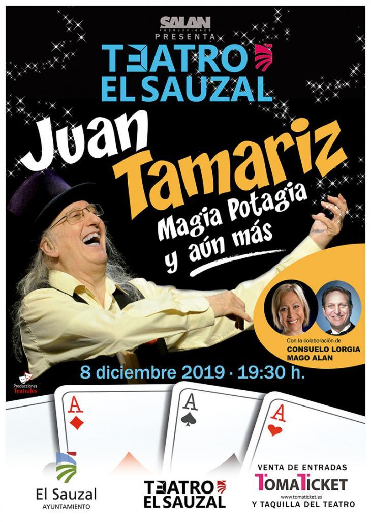 Juan Tamariz Magia Potagia y aún más teatro sauzal diciembre 2019