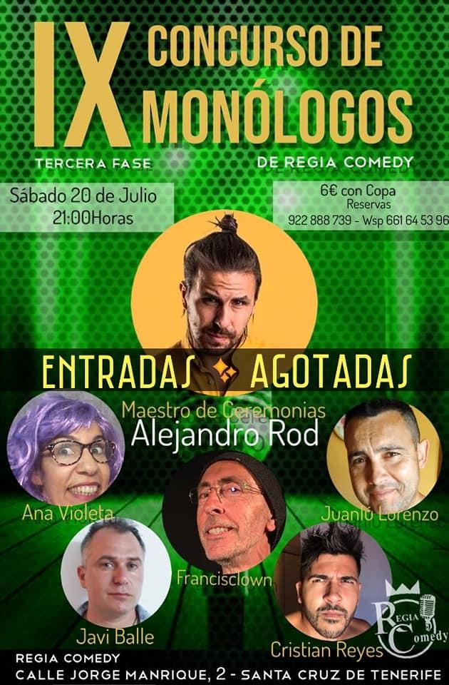 IX Concurso de monólogos