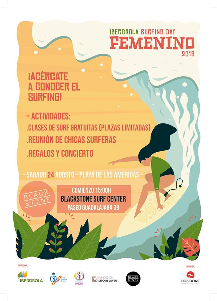 surfing day femenino