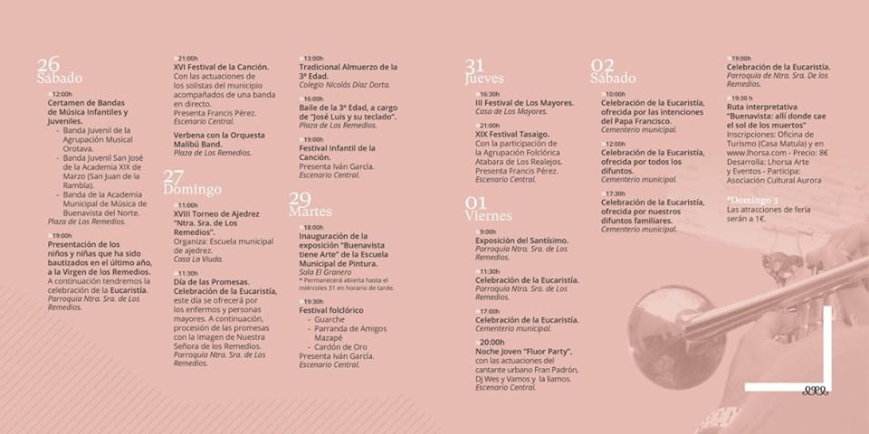 Fiesta Los Remedios 2019