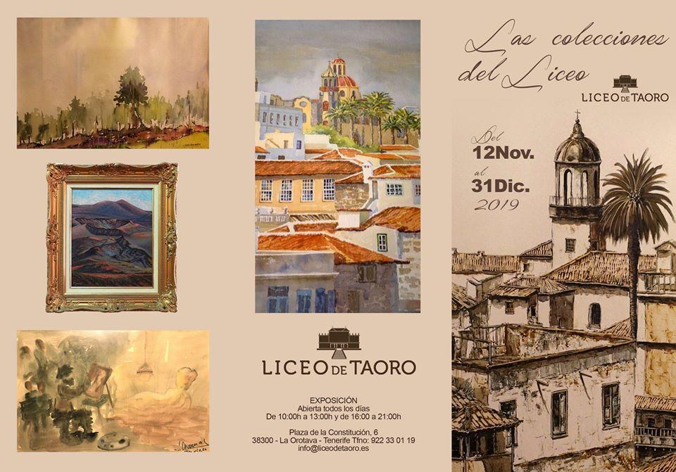 colecciones Liceo taoro orotava pintura noviembre diciembre 2019