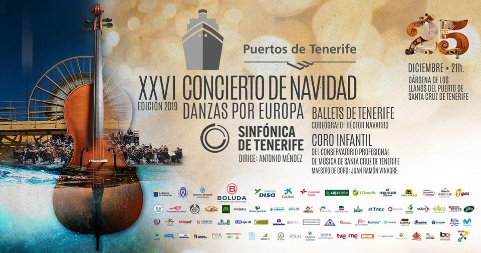 XXVI Concierto extraordinario Navidad Sinfónica puerto Tenerife