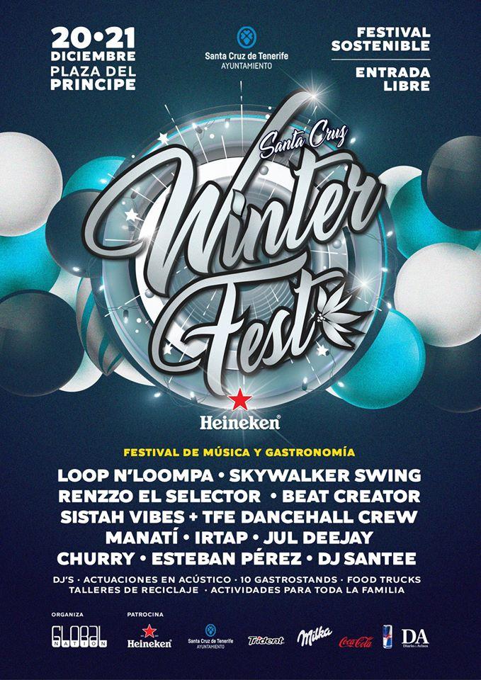 Santa Cruz Winter Fest diciembre 2019