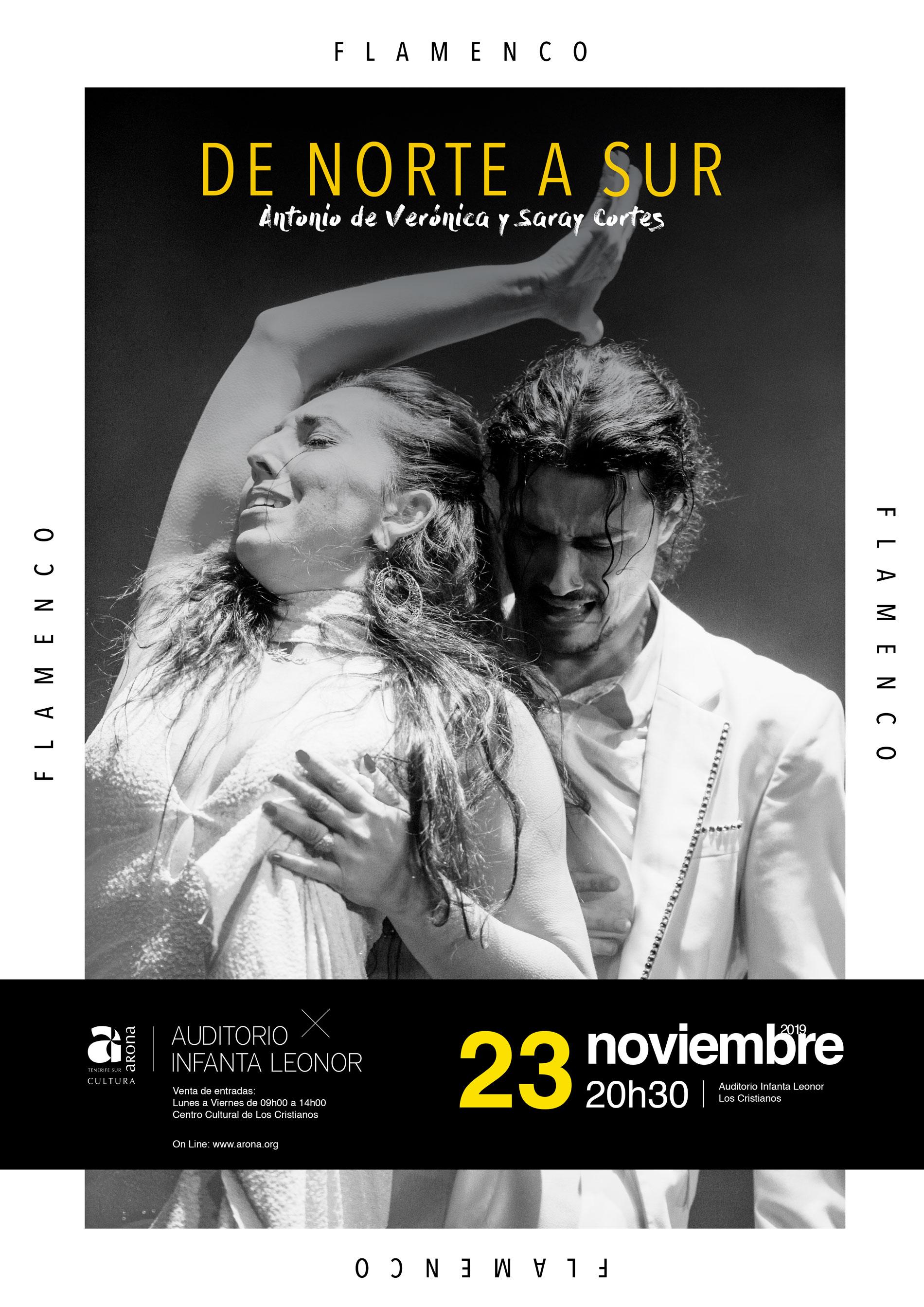 Flamenco de Norte a Sur con Antonio de Verónica y Saray Cortés