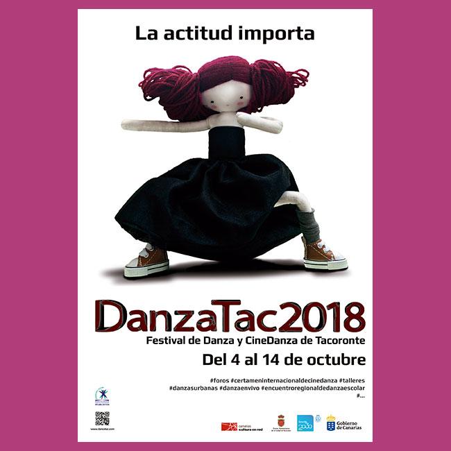 Cartel DanzaTAC 2018