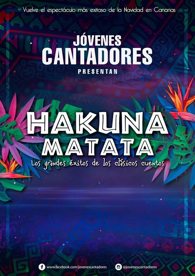 Jóvenes Cantadores Hakuna Matata concierto navidad diciembre 2019