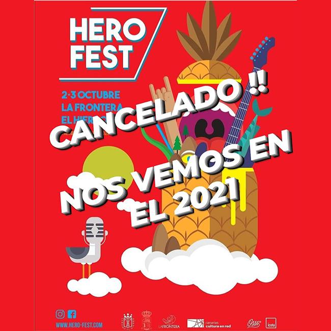 Herofest 2020 cancelado