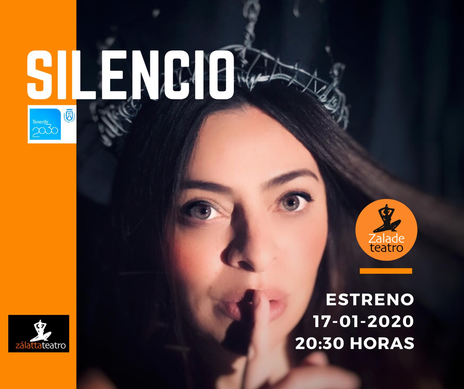 Silencio Inés Rodríguez zalatta teatro mercedes laguna enero 2020