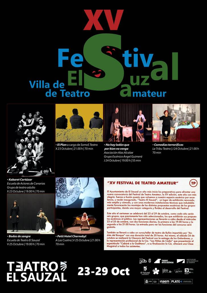 XV FESTIVAL DE TEATRO AMATEUR