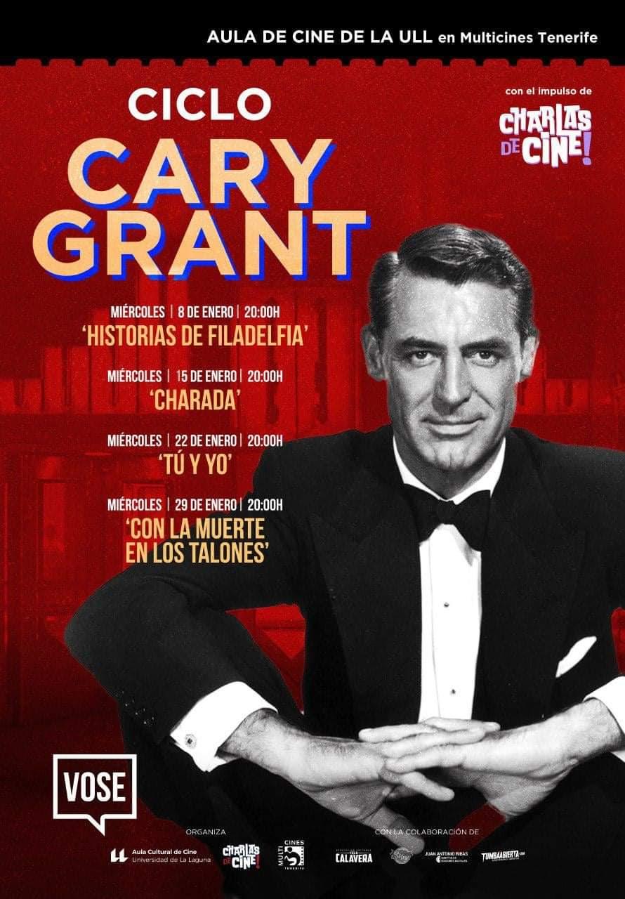 Ciclo Cine Cary Grant multicines tenerife laguna enero 2020